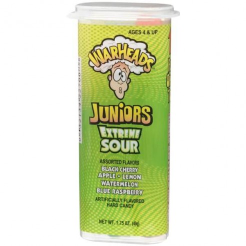 WarHeads Juniors Extreme Sour 49 g