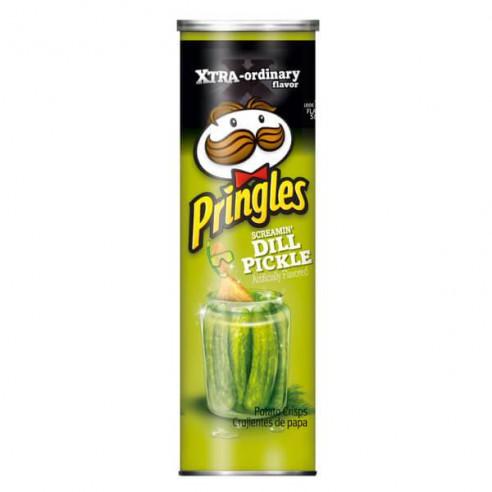 Pringles Screamin Dill Pickle 158 g